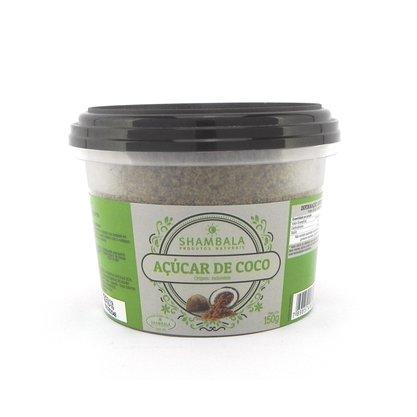 Açúcar de coco caixa com 12 potes de 150g