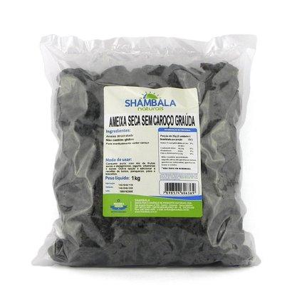 Ameixa seca sem caroço graúda 88/110 1kg