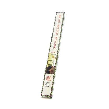 Canudo de cera (vela de ouvido) caixa com 1 par