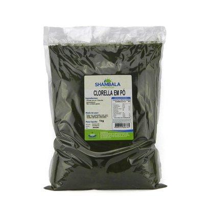 Chlorella em pó 1kg