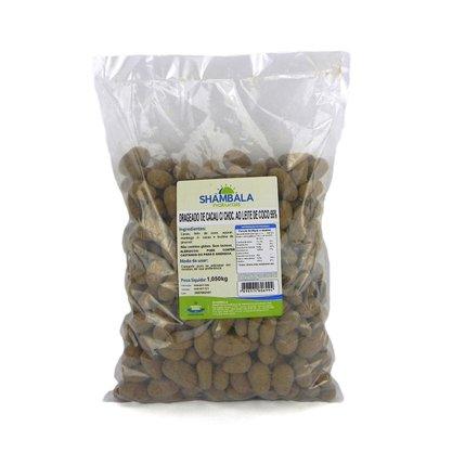Drageado amêndoa de cacau c/ choc. ao leite de coco 1,05 kg