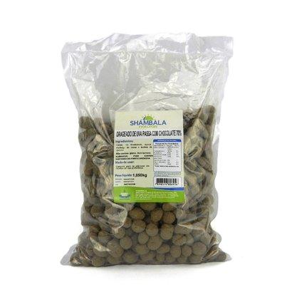 Drageado de passas de uva com chocolate 70% cacau 1,050kg