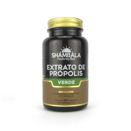 Extrato de própolis verde sem álcool 60 cápsulas
