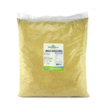 Farinha de linhaça dourada 7kg