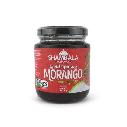 Geleia de morango orgânica sem açúcar 240g