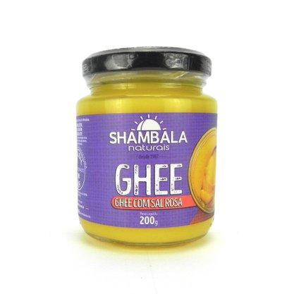 Ghee manteiga com sal rosa do himalaia 200g