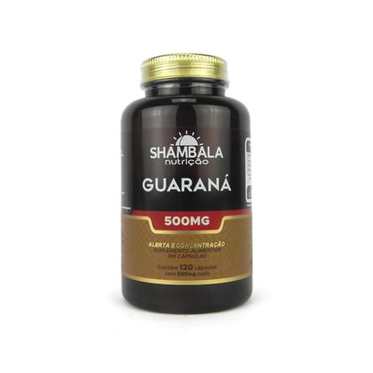 Guaraná 120 cápsulas de 500mg