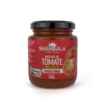 Molho de tomate tradicional orgânico 240g