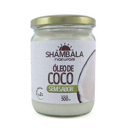 Óleo de coco sem sabor 500ml caixa com 12 unid.