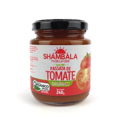 Passata de tomate orgânica 240g