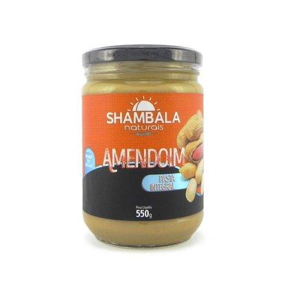 Pasta de amendoim integral 550g caixa com 6 un.
