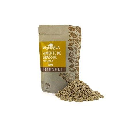Pepitas de girassol semente sem casca crua 150g