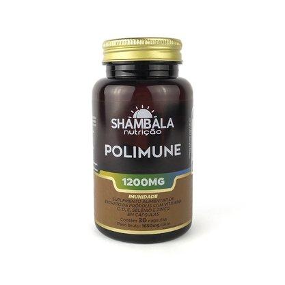 Polimune própolis com vitaminas e minerais 30 cápsulas de 1200mg