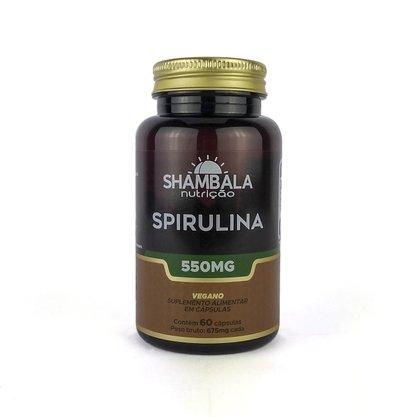 Spirulina 60 cápsulas de 550mg