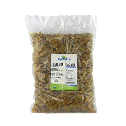 Uva passa clara sem semente 1kg