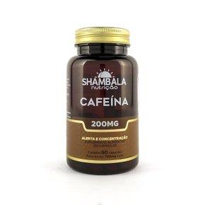 Suplemento de cafeína 60 cápsulas de 200mg
