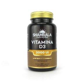 Vitamina D3 2000UI com 60 cápsulas